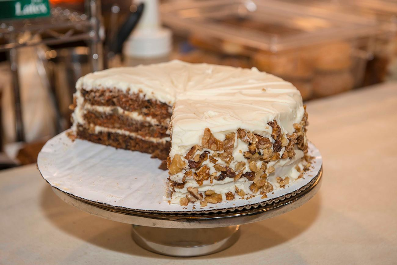 Carrot cake{ }/ Image: Joe Simon // Published: 1.9.19