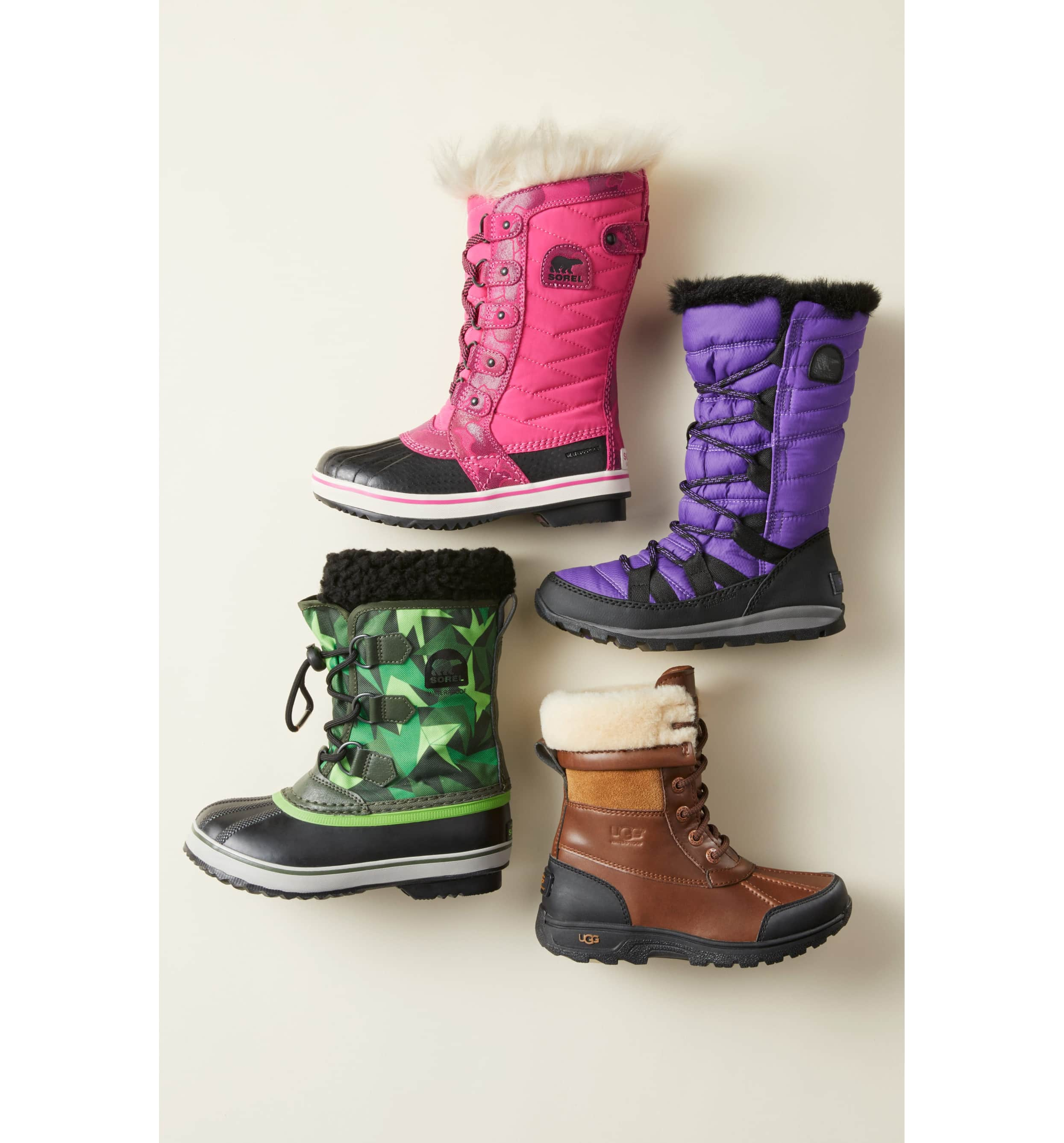 <p>A diamond-quilted shaft and smooth trim add textural interest to a waterproof boot topped with a fluffy cuff. Lots of color options!{&nbsp;} $100.00 (Image: Nordstrom){&nbsp;}</p><p></p>