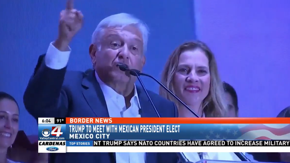 Mexican President Elect Wants To Create Border Force Combat Illegal Immigration