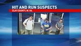 Three men wanted in Calhoun County hit and run