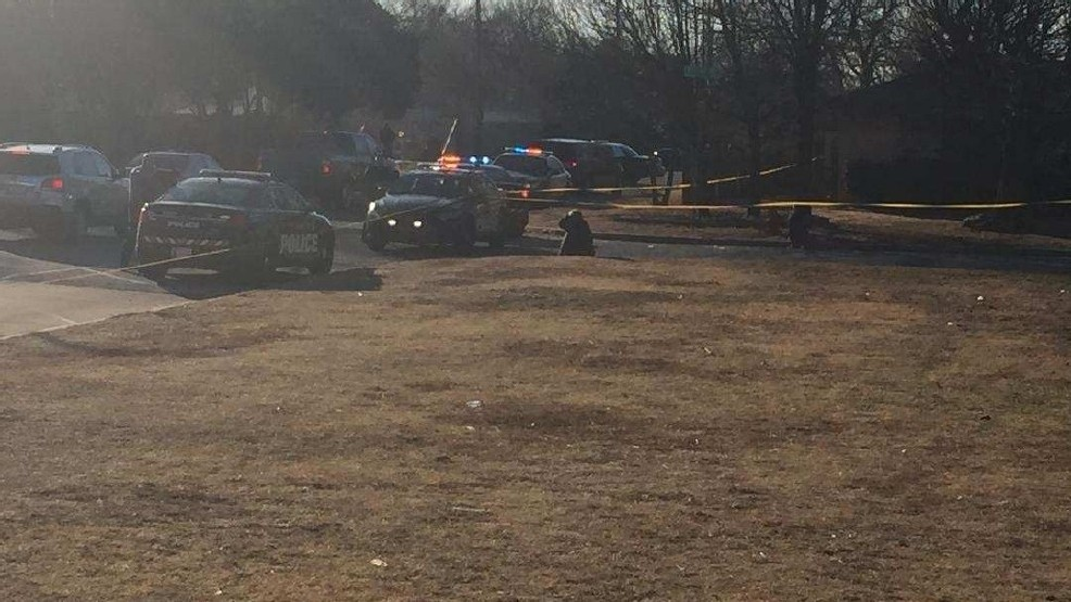 Police investigate the scene of a fatal Jan. 25 shooting near SE 66 and Kelley. Police say Antwon Chamblee died in the shooting. (KOKH/FILE)