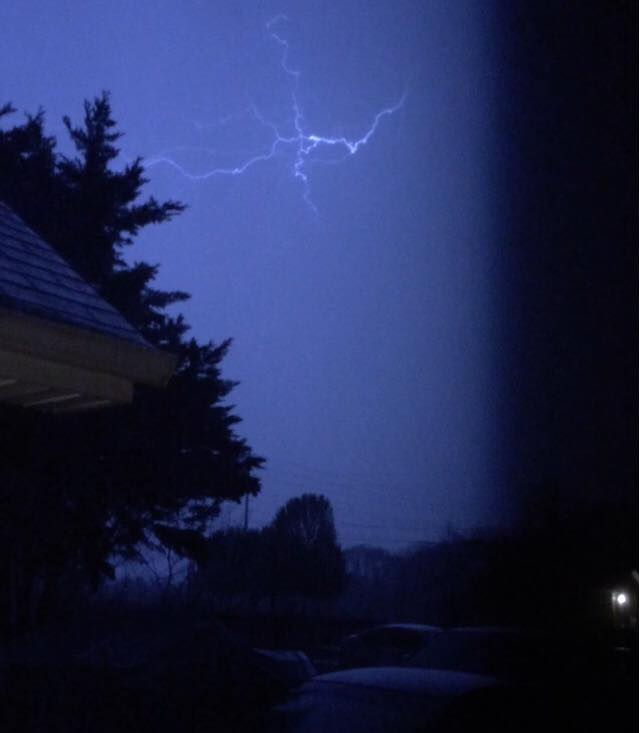 Lightning in Murfreesboro, Tennessee PHOTO: Keith Wilson