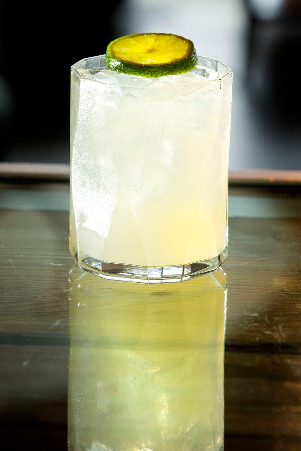 The Wolf of Oaxaca at the Butchers Table, consisting of tequila, Del Maguey &quot;Vida&quot; mezcal, pineapple, agave, and lime. (Sy Bean / Seattle Refined)<br><p></p>