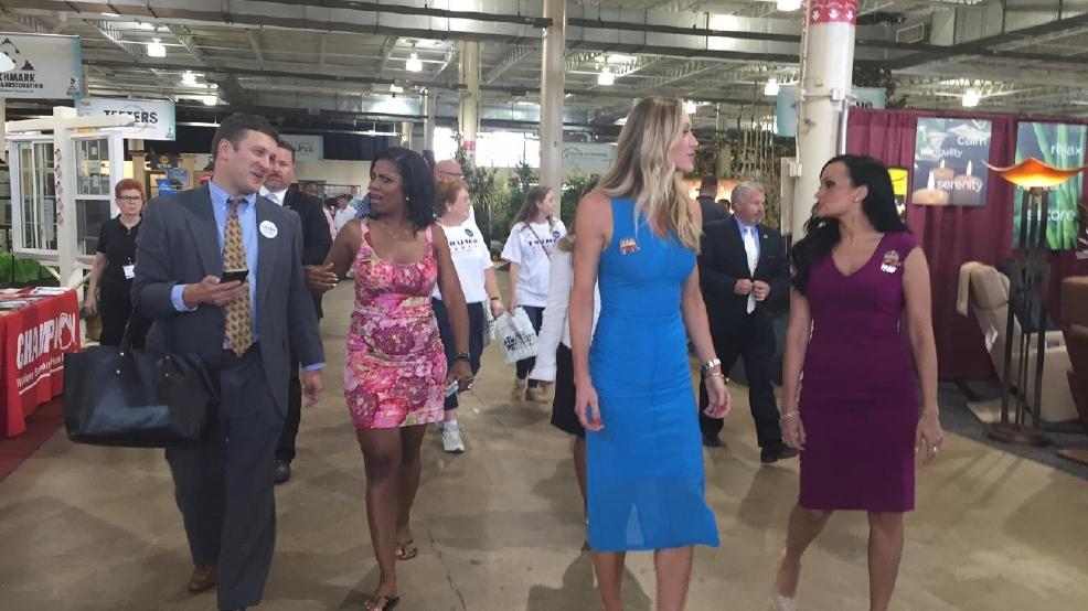 Lara Trump Visits Columbus Home Garden Show During Women
