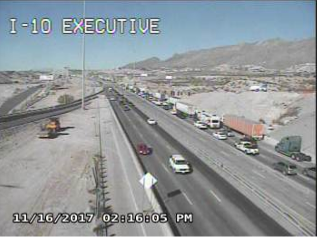 Crash on I-10 West, right two lanes closed | KFOX