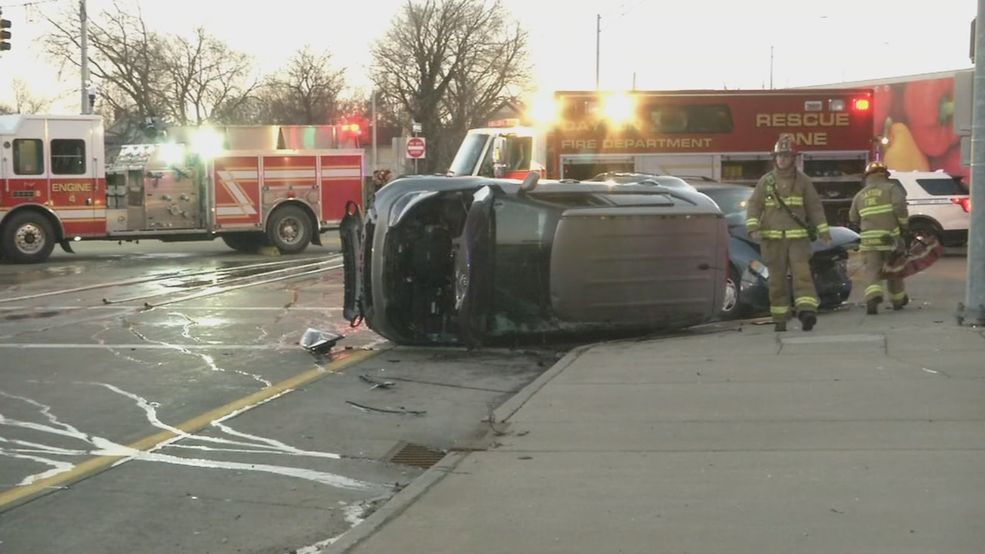 car accident dayton ohio	  Crash flips car on its side in Dayton, police believe alcohol was ...