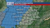 CODE RED: Winter Storm Watch issued for several midstate counties for potential ice, snow