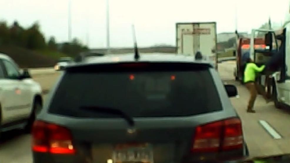 Truck driver road rage caught on cam | KOMO