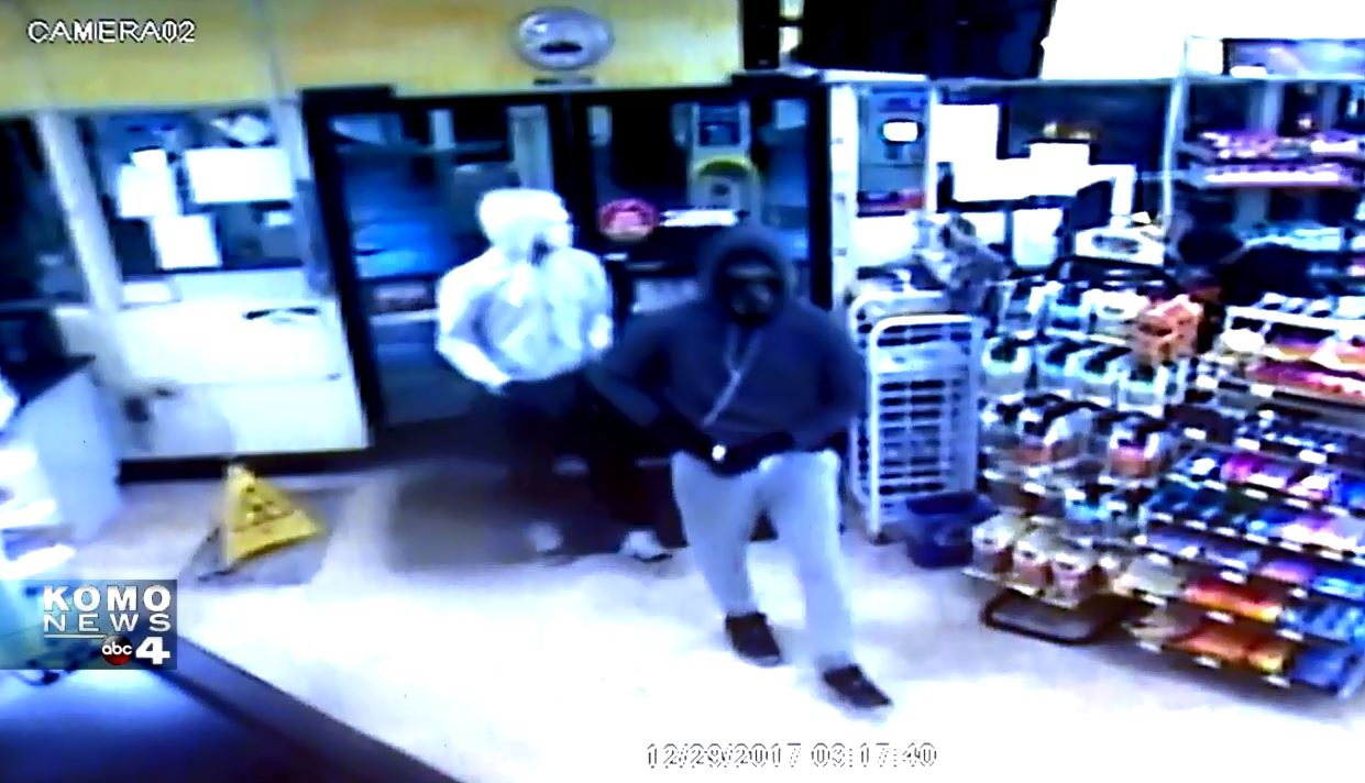 AM/PM Robbery Surveillance Video (Courtesy AM/PM)