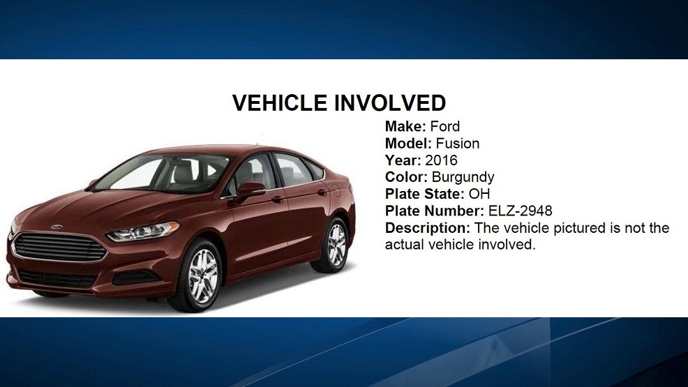 The couple's vehicle is described as a burgundy 2016 Ford Fusion (not the car pictured) Courtesy: Warren County Sheriff's Office<p></p>