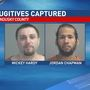 "Caught: Escaped inmates ""right where they belong in Sandusky County"""