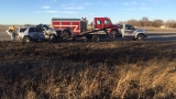 One injured in Semi Vs. SUV accident