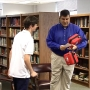 Student makes defibrillator donation to Charleston Catholic athletic programs