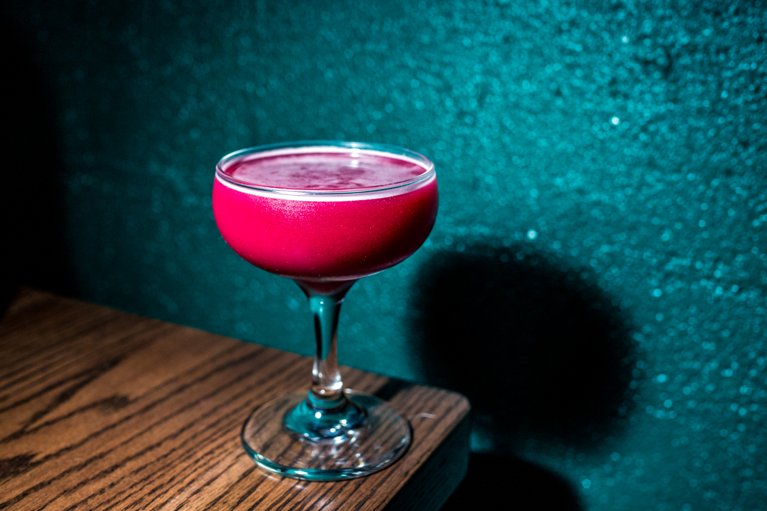 Betelgeuse: gin, beets, dill, lemon, and Dijon / Image: Catherine Viox // Published: 9.19.19