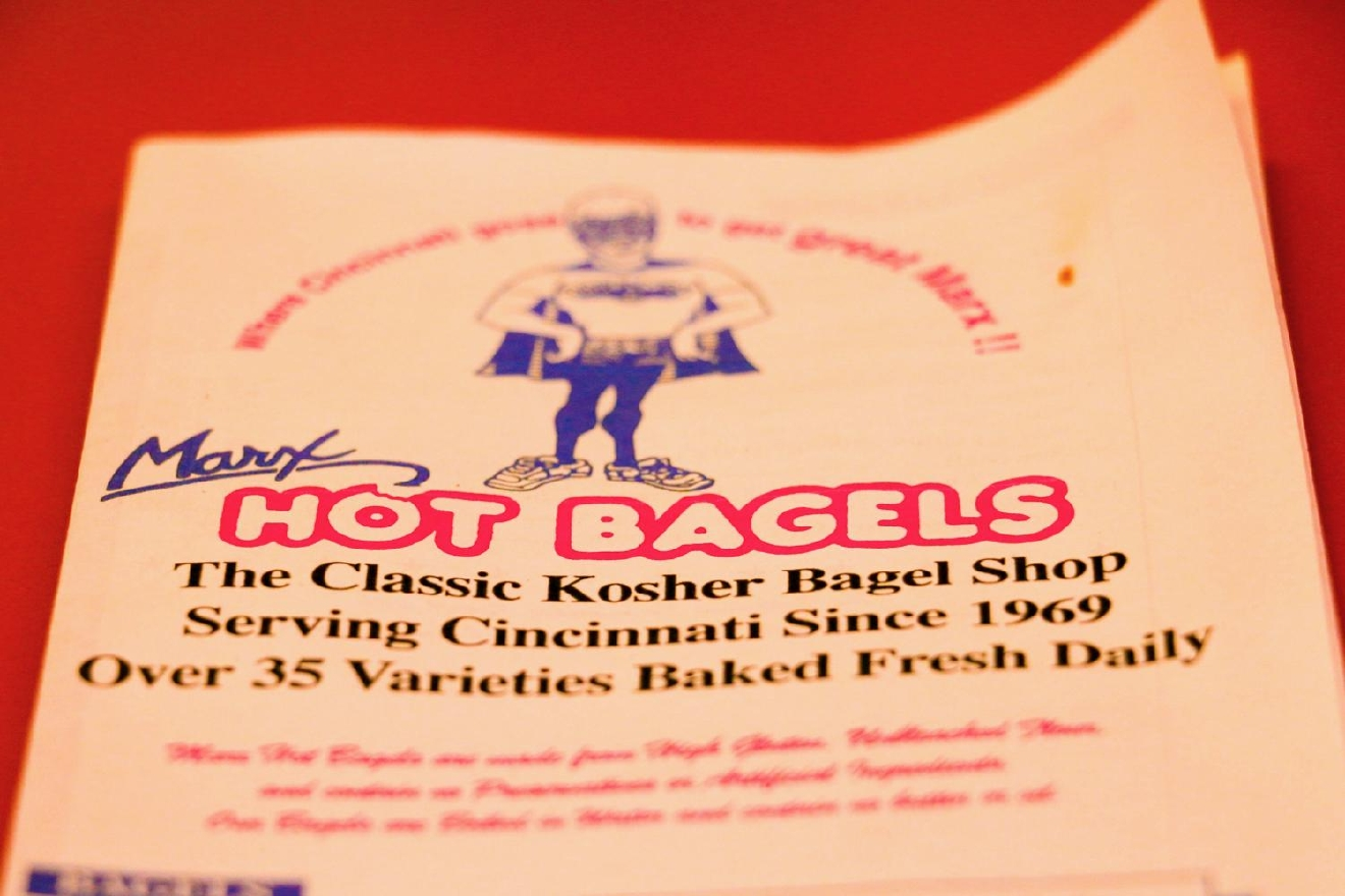 Open since 1969, Marx Hot Bagels is a kosher bagel shop located in Blue Ash. With a variety of bagels baked daily, along with sandwiches, soups, and salads to order, this restaurant is sure to meet the needs of your growling stomach. ADDRESS: 9701 Kenwood Rd., Blue Ash, OH 45242 / Image: Tommy Zipperstein // Published: 2.7.17