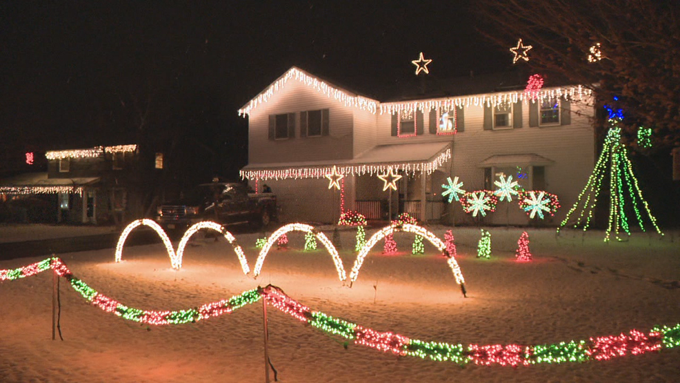 Annual Christmas light display benefits a good cause in Farmington