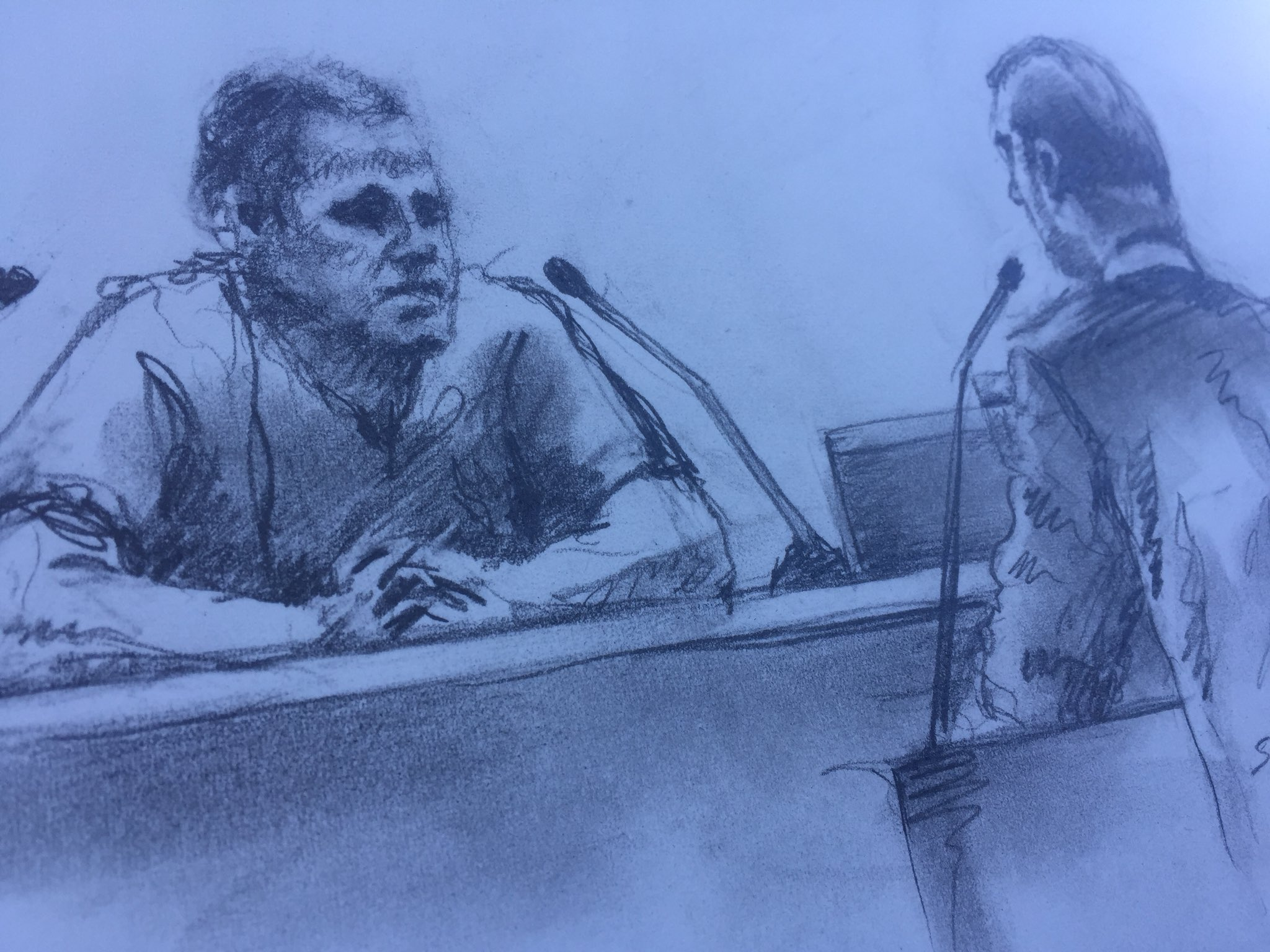 Ammon Bundy to learn on Monday if a judge will allow him out of federal custody during trial. He faces conspiracy and weapons charges connected to the Bundy Ranch standoff. (Stewart Freshwater)