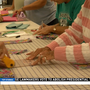 Winter Texans make dresses for global anti-trafficking campaign