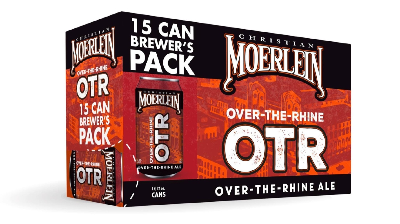 OTR ALE by Christian Moerlein Brewing Co. / This delicious ale is perfectly balanced with a bit of maltiness and a subtle hop. / Image courtesy of Christian Moerlein Brewing Co.  // Published: 1.10.17