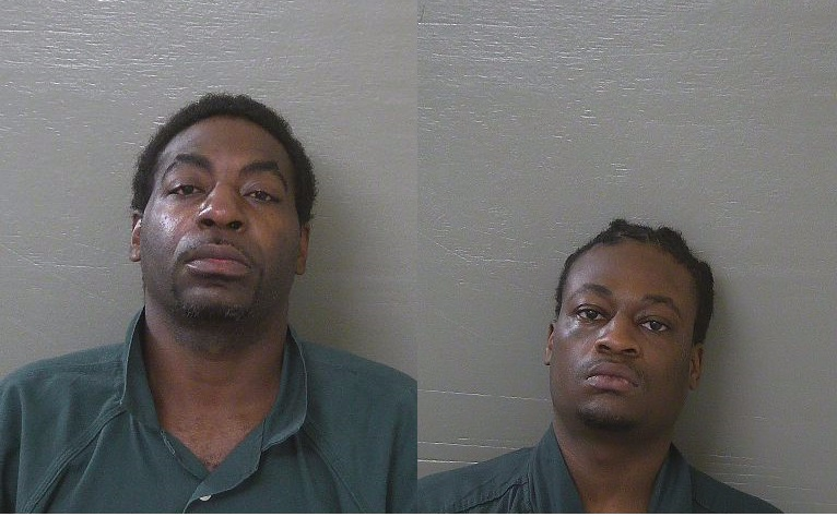 Photo: Shannon Jackson (left), De'Merrius Stallworth (right)<p></p><p>Photo source: Escambia County Jail{&amp;nbsp;}</p>