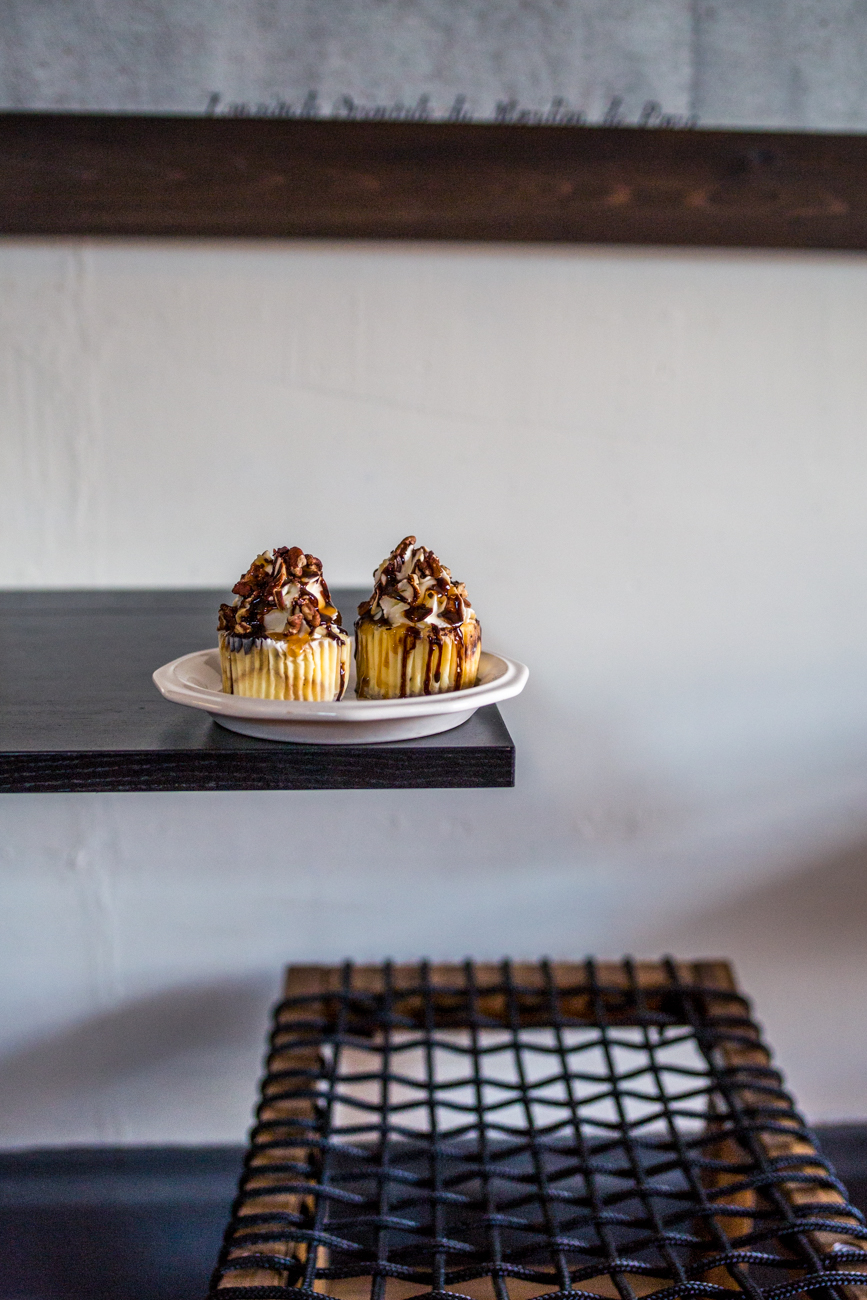 Bengal Tiger Turtle cheesecake cupcake / Image: Catherine Viox // Published: 8.1.19