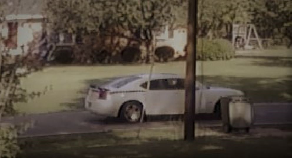 Police have released surveillance pictures of a car they say was involved in several residential burglaries in the Lakeside area of Bennettsville. (Bennettsville Police)