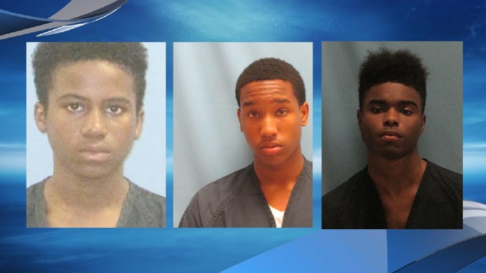 Names released of 3 teens charged in murder of Sylvan Hills