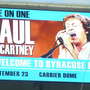Carrier Dome officials outline the dos and don'ts when parking for Paul McCartney