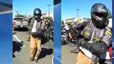 Video: Police look for motorcyclists who assaulted, pulled gun during 'flash mob'