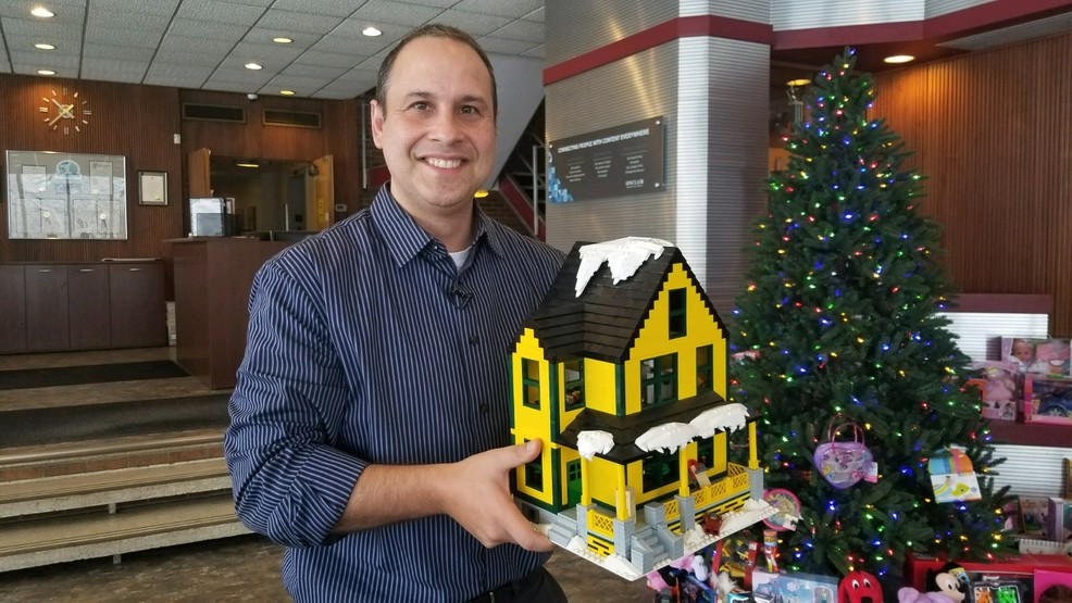 cny man hopes his a christmas story inspired creation will become new lego set - What Year Is Christmas Story Set