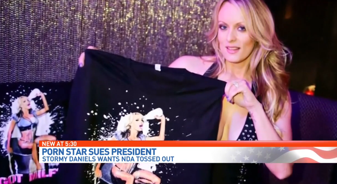 Adult film star Stormy Daniels brings tour to West Palm Beach amid lawsuit. (WPEC){ }