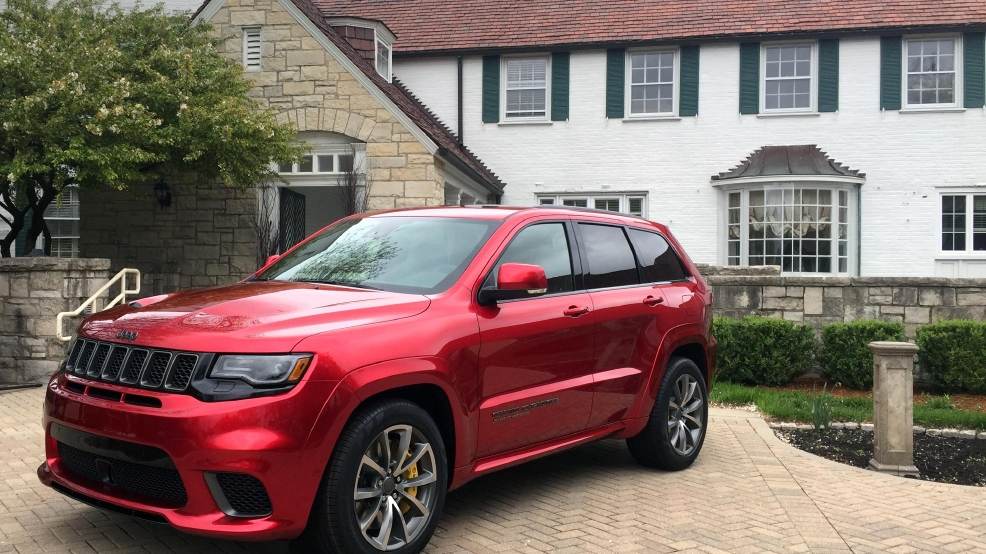 Track Hawk Grand Cherokee >> GALLERY: 2018 Jeep Grand Cherokee Trackhawk | WJLA