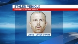 Stolen vehicle crashes after police chase