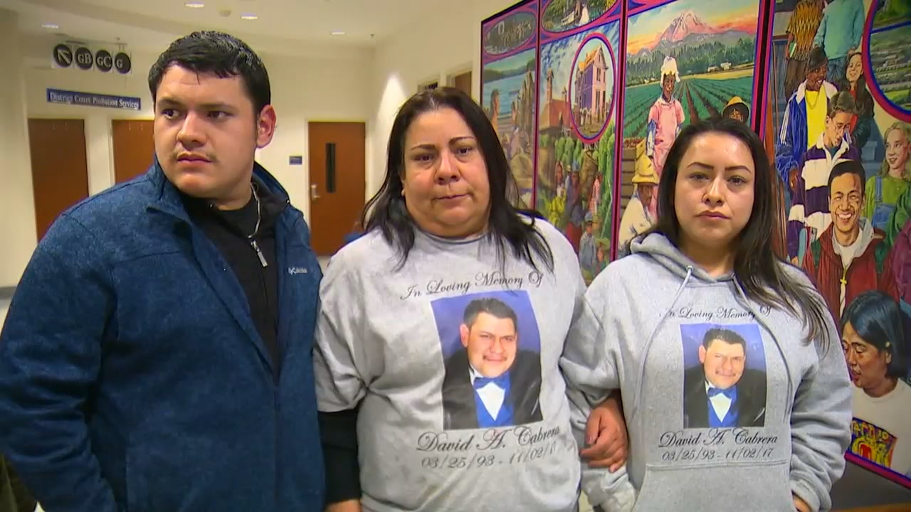 The Cabrera family said it was a struggle to show up in court and come face-to-face with the two men suspected of killing their loved one, 24-year-old Daniel Cabrera. (Photo: KOMO News)