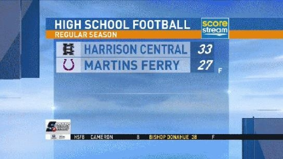 9.25.15 Highlights - Harrison Central at Martins Ferry
