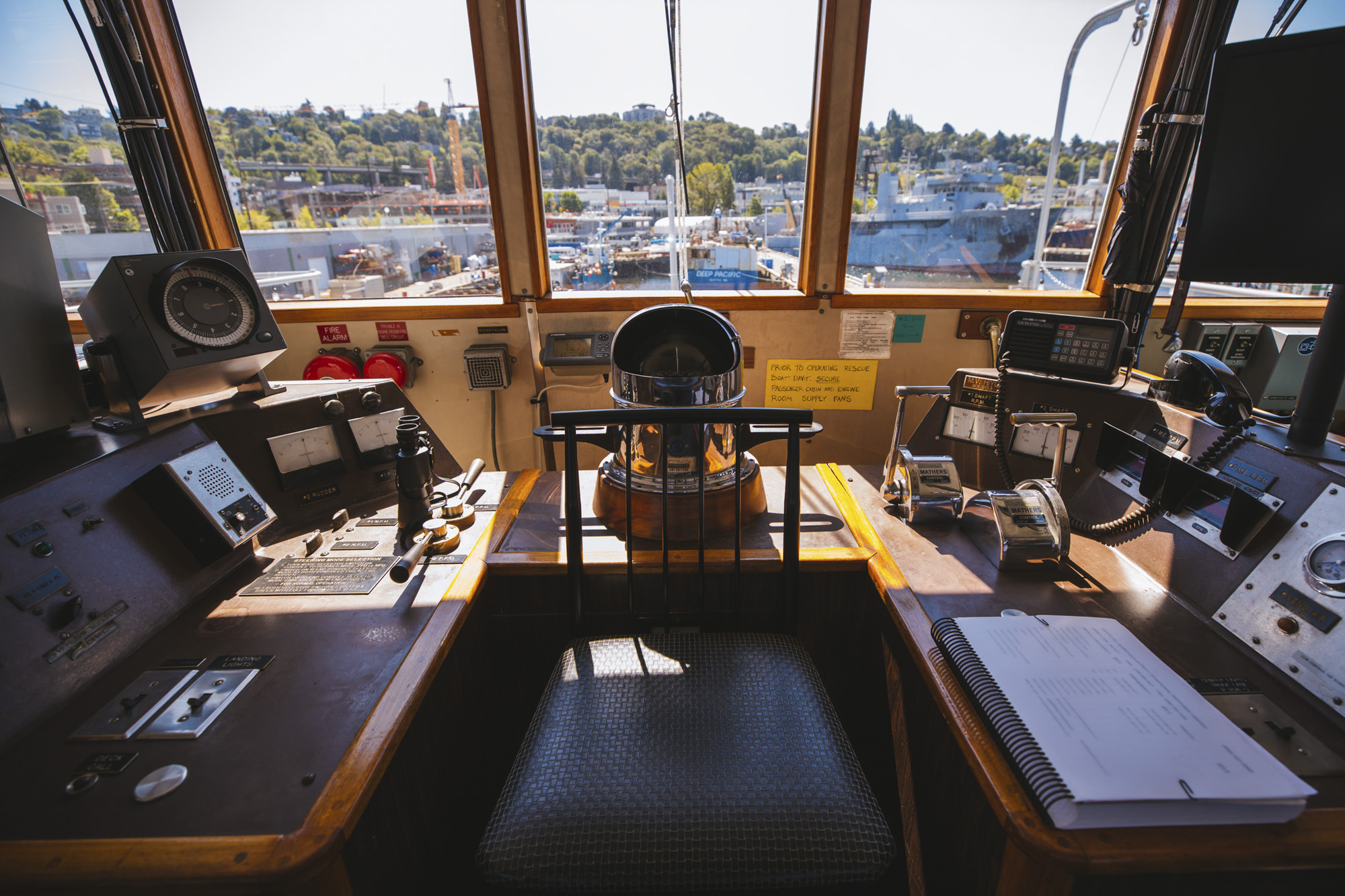 <p>It's 162 feet of floating fun and entertainment, and it probably looks a little familiar. Built in 1967, The Hiyu retired two years ago from the Washington State Ferry System and was promptly purchased by now-owner Jeff Wilson. It took a year to get the Hiyu in shape for{&amp;nbsp;}all kinds of events, like corporate parties, birthdays, and it's a hot ticket for weddings. The ferry turned party boat comes with two bars and a food trailer! Interested in renting this beaut out? Check out onthehiyu.com (Image: Sunita Martini / Seattle Refined)</p>