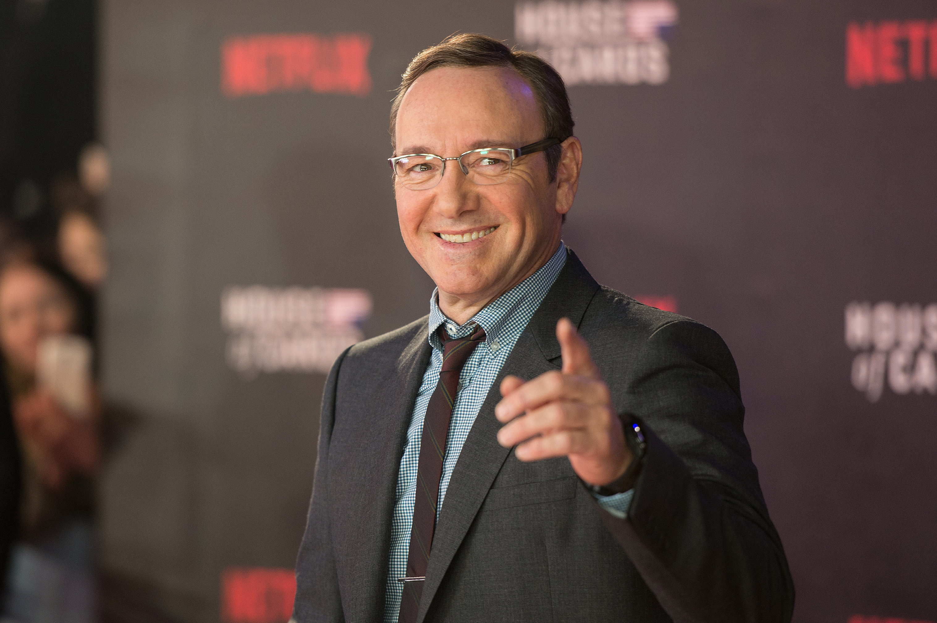 House Of Cards - UK TV premiere held at the Empire Leicester Square, Arrivals.  Featuring: Kevin Spacey Where: London, United Kingdom When: 26 Feb 2015 Credit: Daniel Deme/WENN.com
