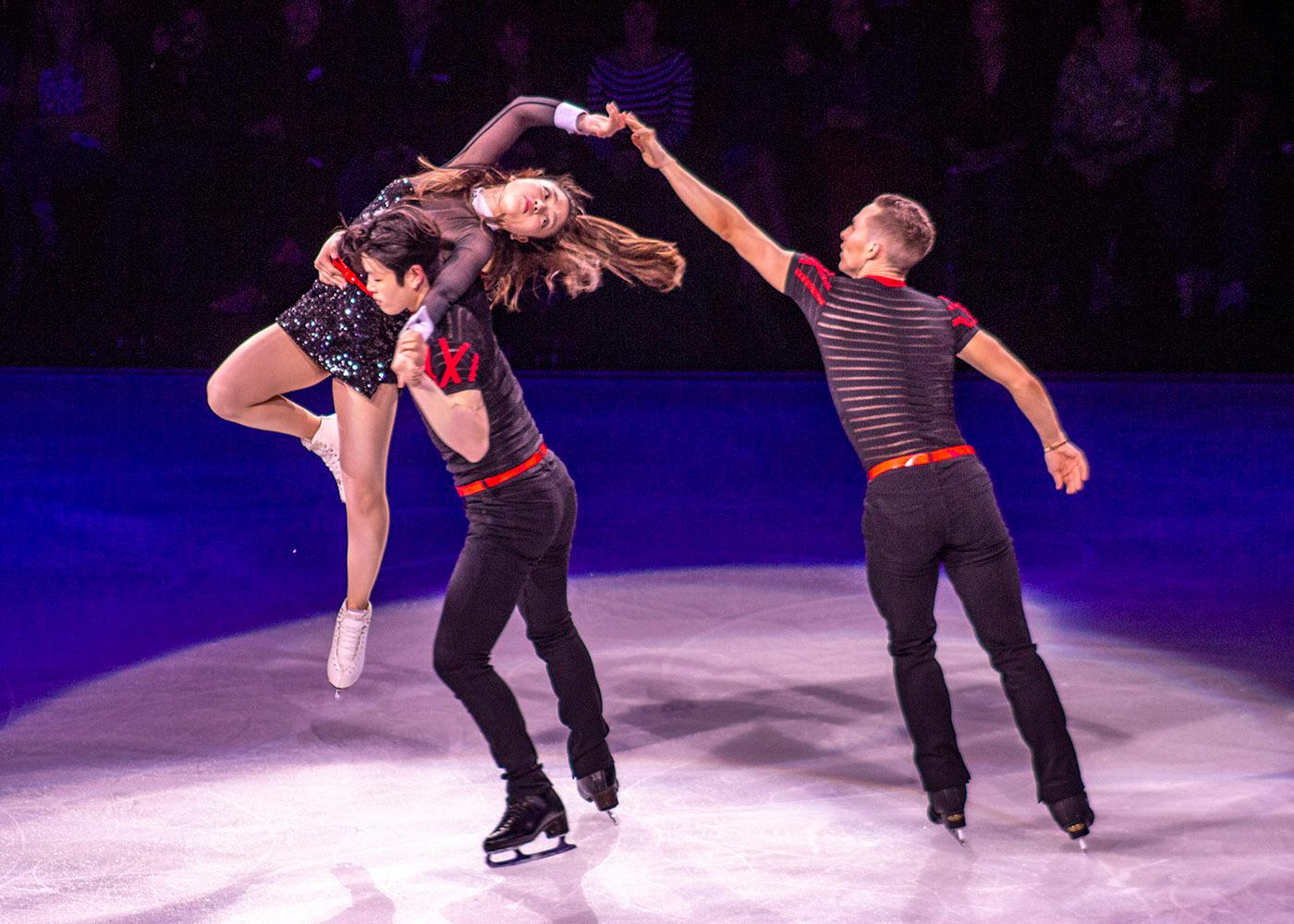 Current and former Olympians and other top figure skaters performed at the Moda Center Sunday, May 20, 2018 as part of the Stars on Ice U.S. tour. Many performers including Nathan Chen, Maia and Alex Shibutani, Adam Rippon, and Mirai Nagasu recently competed at the 2018 Winter Olympics in Pyeongchang, South Korea. Other performers included Meryl Davis and Charlie White, Ashley Wagner, Jason Brown, Bradie Tennel, Madison Hubbell and Zachary Donohue, Karen Chen and Vincent Zhou. Photo by A