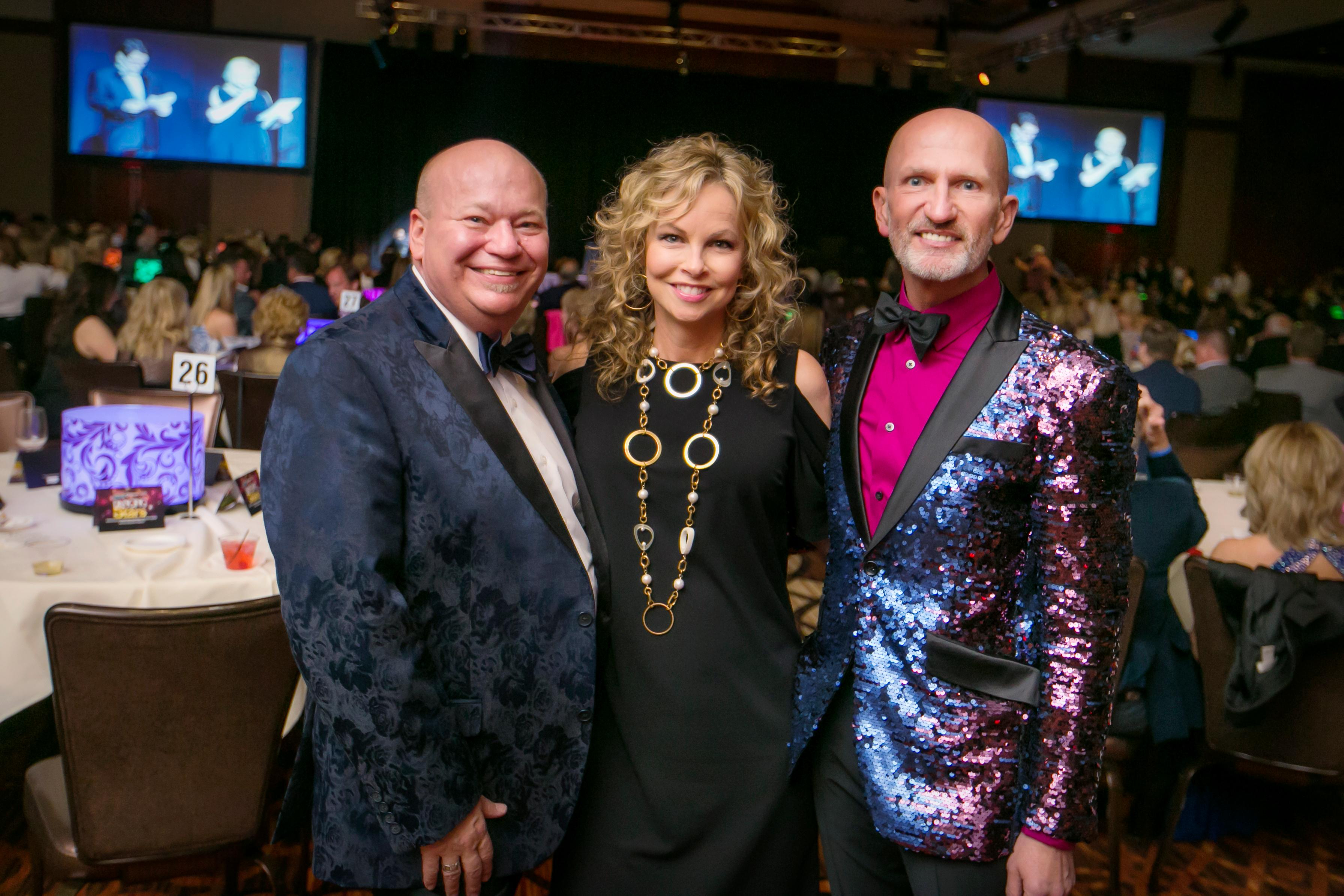 Danny Cravon, Shelli Wineland, and Joe Rigotti / Image: Mike Bresnen Photography