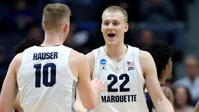 The Hauser brothers are leaving Marquette and will enter the NCAA transfer portal.