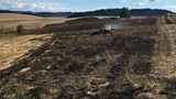 Illegal dumping blamed for Douglas County wildfire near Rice Hill