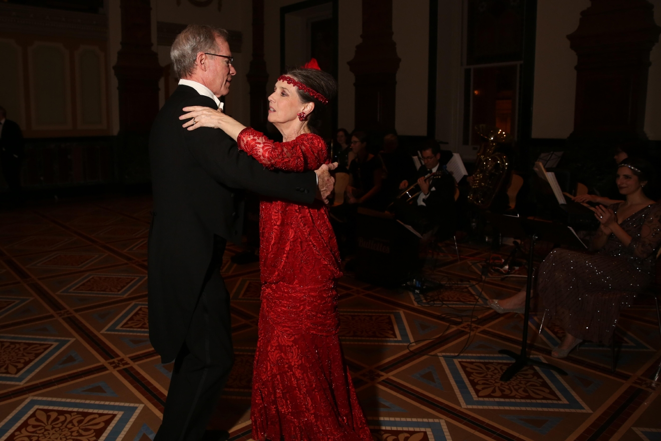 Inauguration ball at the National Portrait Gallery. (Amanda Andrade-Rhoades/DC Refined)