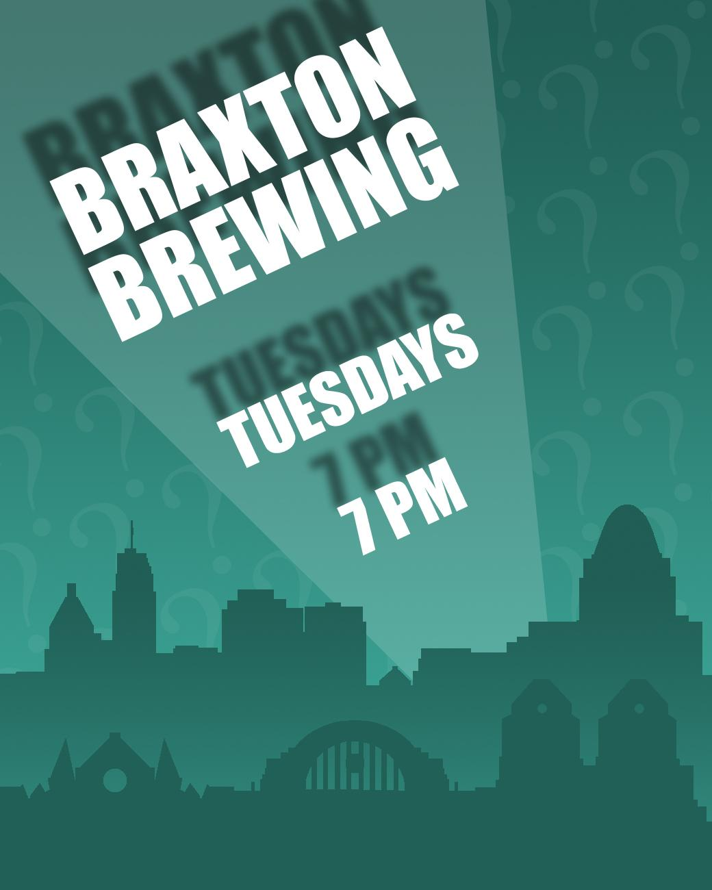 Braxton Brewing has trivia every Tuesday starting at 7 PM. ADDRESS: 27 W. 7th Street (41011) / Image: Phil Armstrong, Cincinnati Refined // Published: 8.30.17