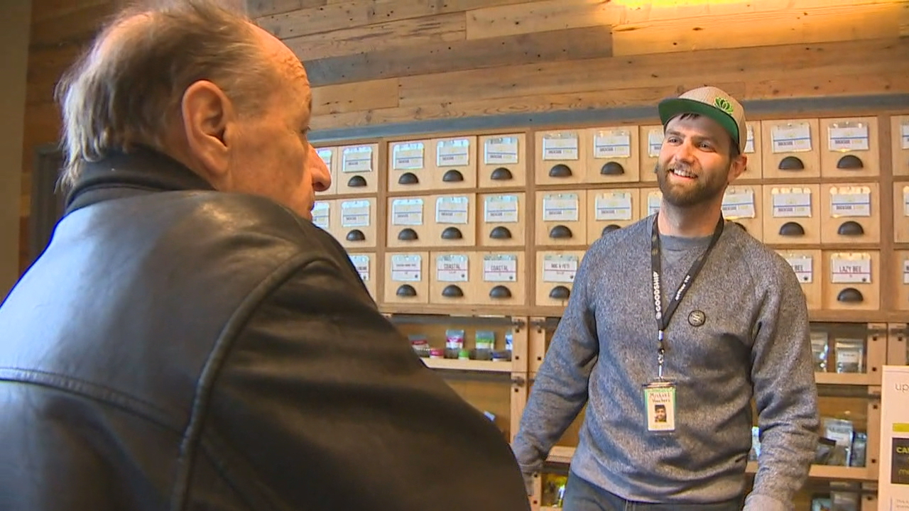 5-year anniversary of legal recreational pot in Washington state was on Saturday, Nov. 4, 2017. (KOMO News)<p></p>
