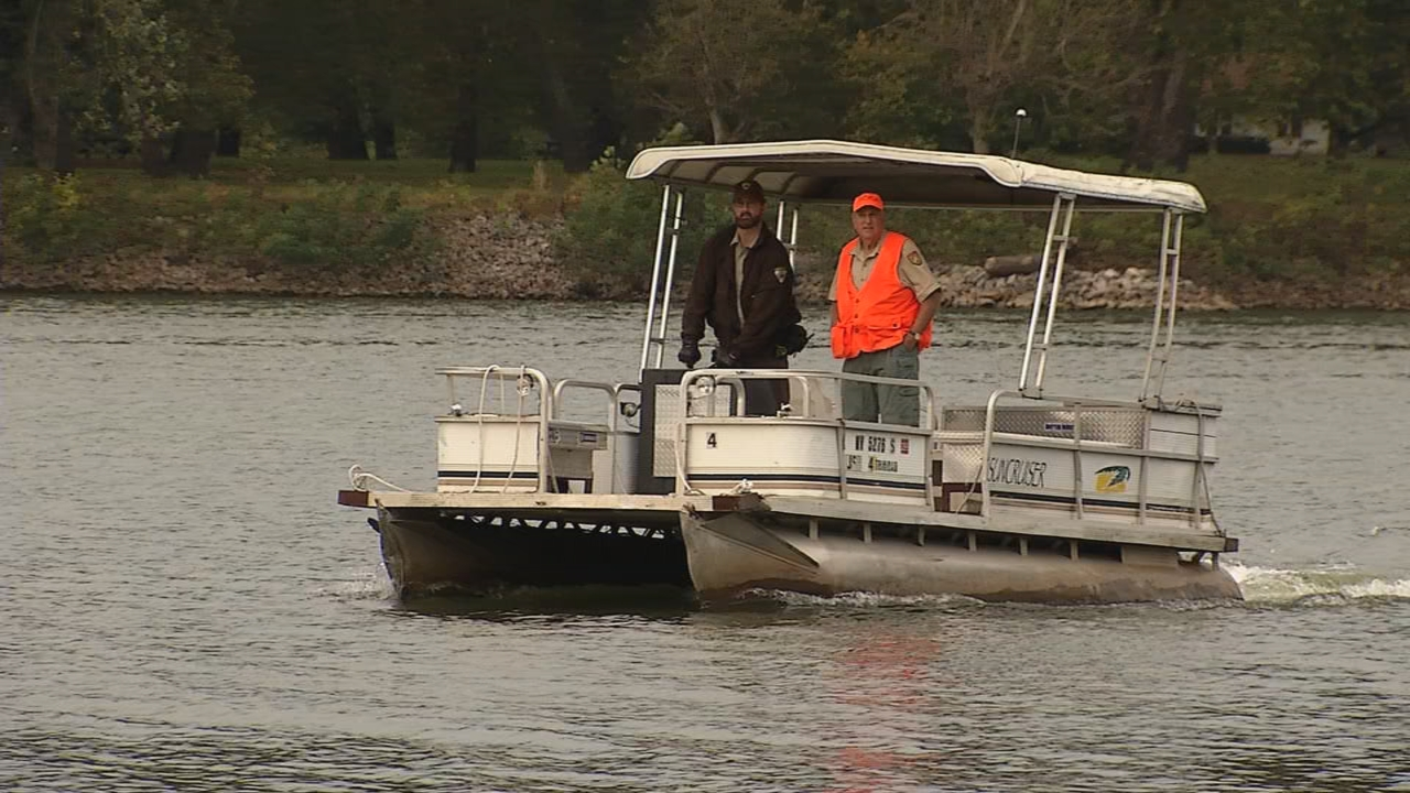The only way to access Blennerhassett Island is by boat. (WCHS/WVAH)