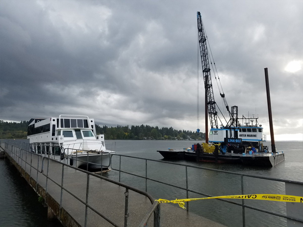 Photo from King Co. Sheriff's Office Marine Rescue