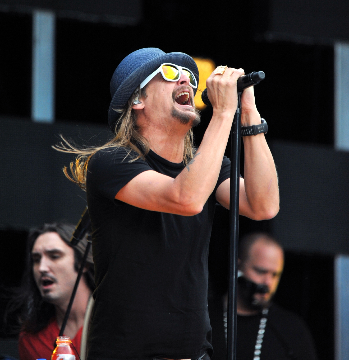 Kid Rock performing in concert at the Anz Stadium  Featuring: Kid Rock Where: Sydney, Australia When: 14 Dec 2013 Credit: WENN.com  **Not available for publication in Australia, New Zealand. No Internet Use.**