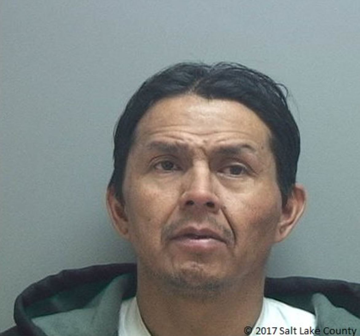 Unified Police arrest man accused of ramming into police cars and stealing a vehicle in Millcreek. (Photo: Salt Lake County Jail)<p></p>