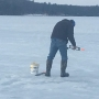 Concern about ice fishing conditions after warm weather