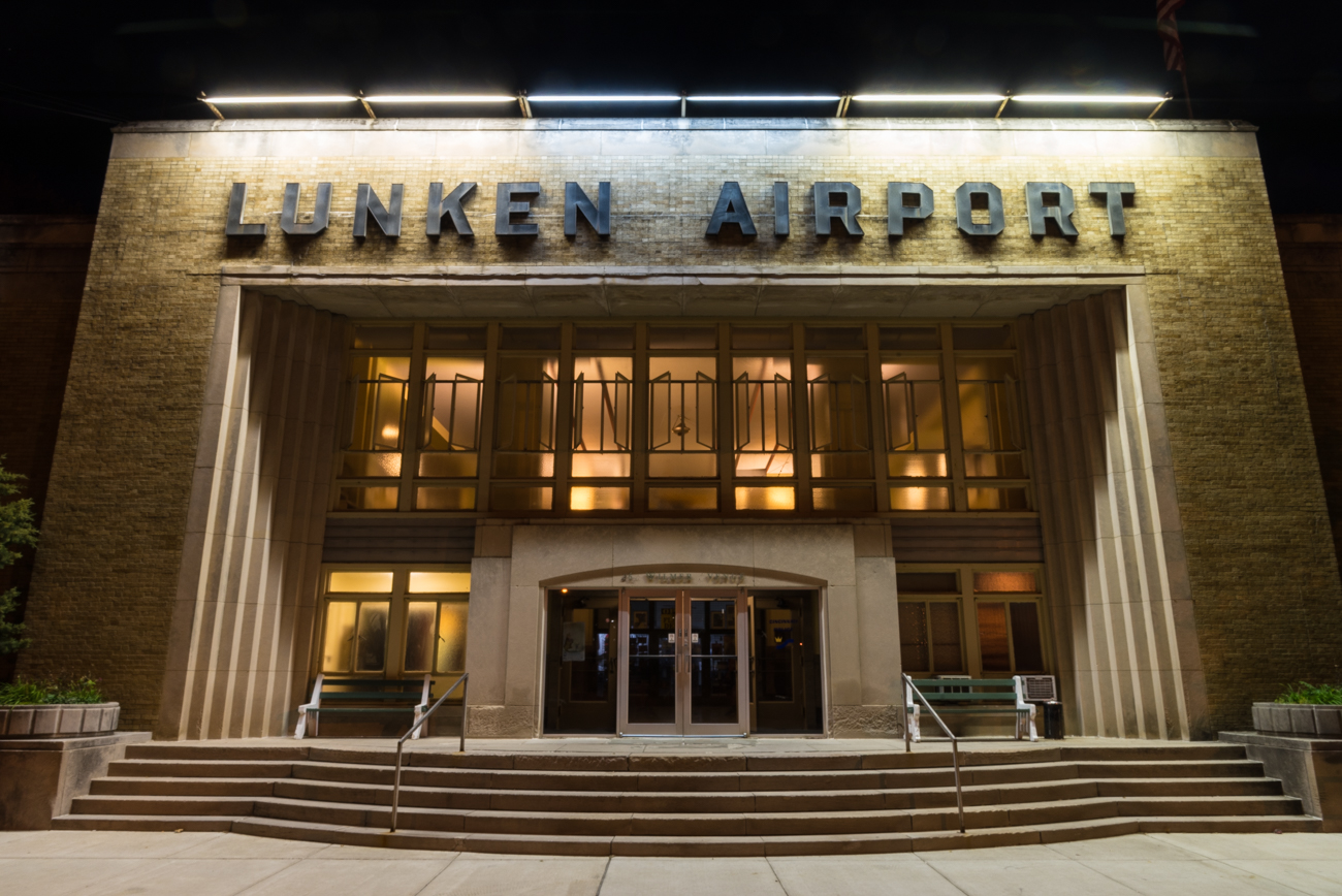 Lunken Airport is a functioning airfield in the East End that was formally dedicated in 1930. Along with a decades-old restaurant in its original Art Deco terminal, it is surrounded by a five-mile public bike path fit for walkers, runners, and riders alike. It is located at 262 Wilmer Ave, Cincinnati, OH 45226. / Image: Phil Armstrong, Cincinnati Refined